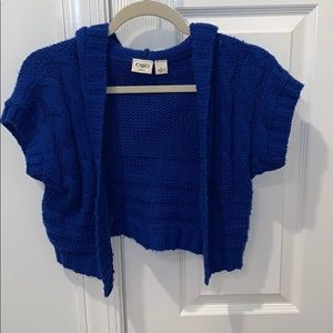 Blue Cato girls knitted sweater